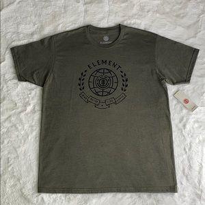 Element Super Soft Olive Short Sleeve T-Shirt